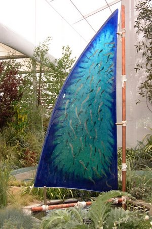 Glass Sail at Chelsea Flower Show